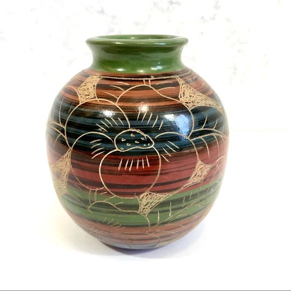 Decorative Pot Decorative Vase Nicaraguan Butterfly Ceramic Vase